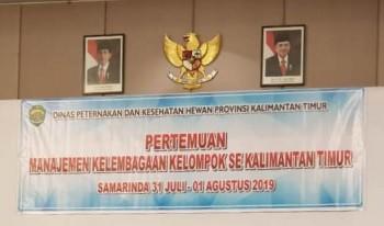 Pertemuan Manajemen Kelembagaan Kelompok Se Kalimantan Timur