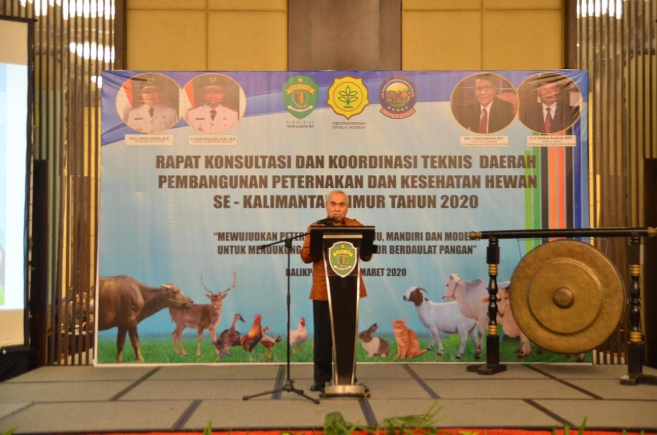 Lahan Luas, Gubernur Isran Sebut Kaltim Potensial Kembangkan Sapi-Kerbau Program SIKOMANDAN.