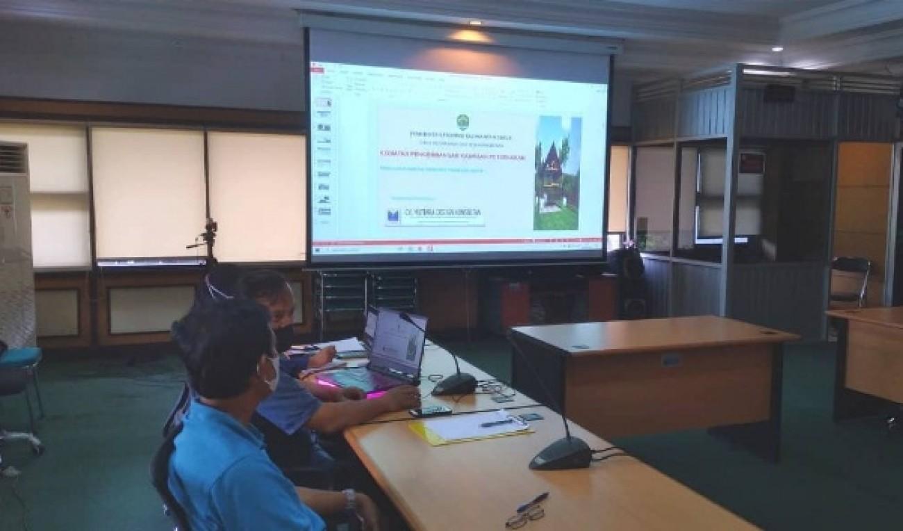 Konsolidasi Dinas PKH dengan tim TGUP3 Kaltim dan Faperta Unmul