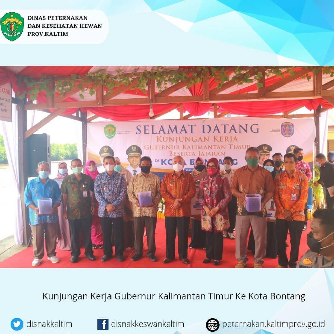 Kunjungan Gubernur di Kota Bontang