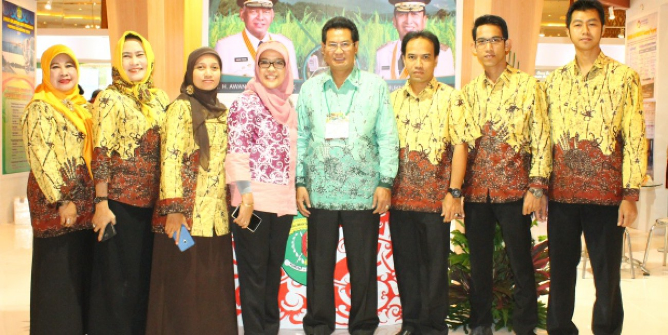 Disnak Bangga  Kaltim  Raih The Best Performance Agrinex Expo 2015