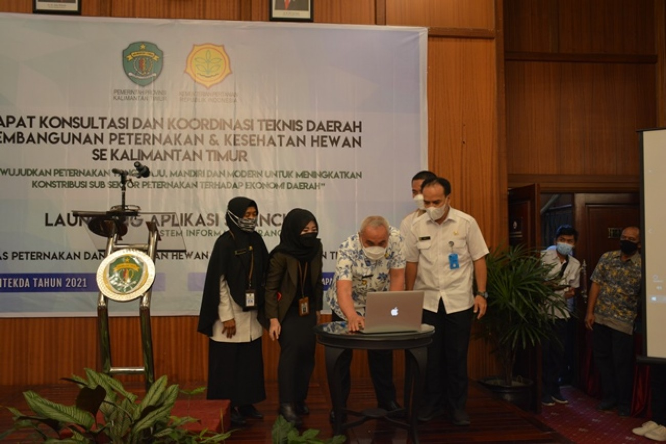 Rakontekda Pembangunan Peternakan & Keswan Tahun 2021