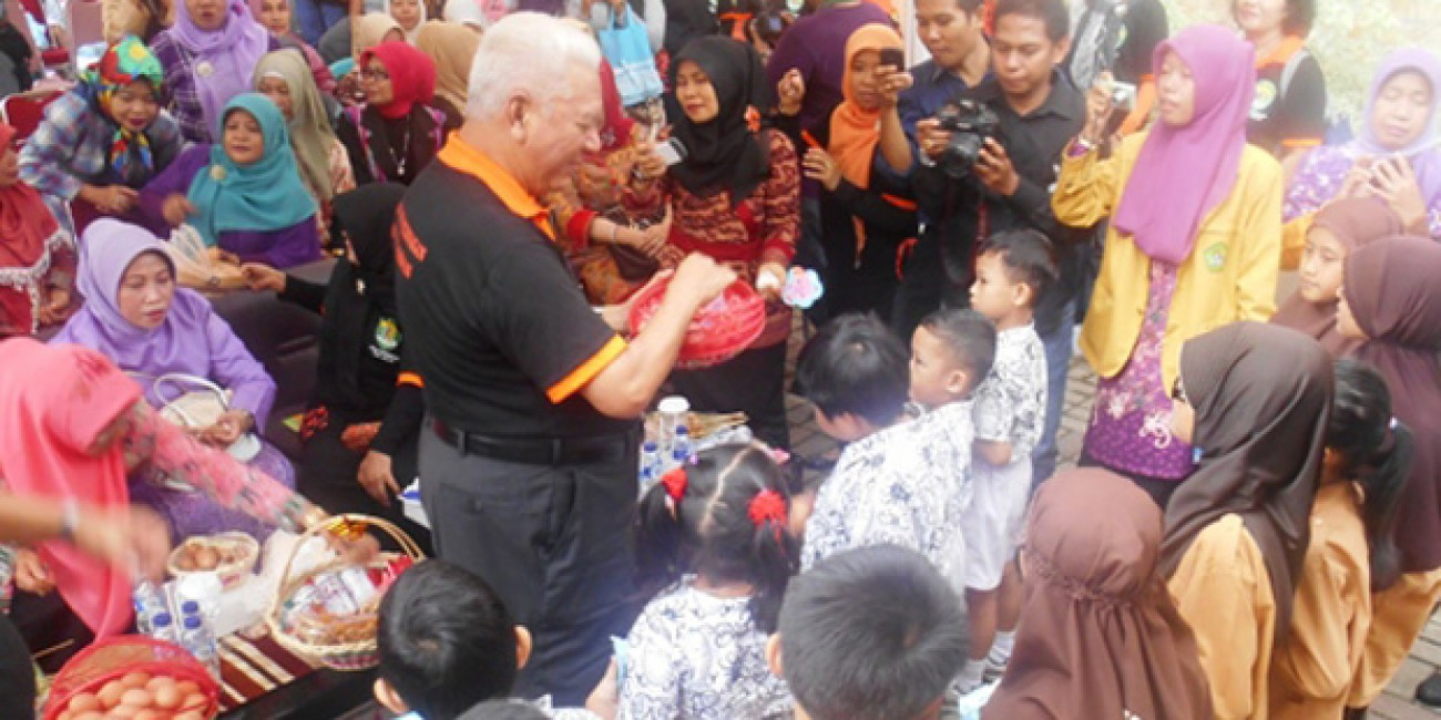 Bulbak Peternakan Diwarnai Bazar Murah dan Rakor