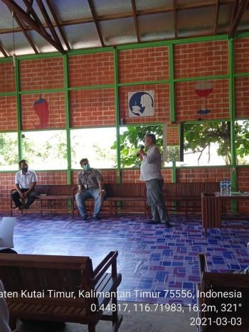 Sosialisasi AUTS/K di Kecamatan Muara Bengkal, Kab. Kutai Timur