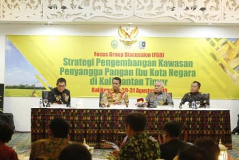Strategi Menteri Pertanian Andi Amran Sulaiman Untuk Ibu Kota Negara Baru Mandiri Pangan