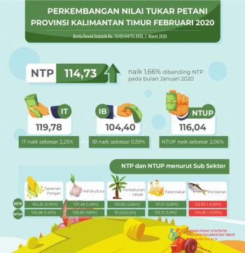 Nilai Tukar Petani Peternakan Bulan Februari Mengalami Peningkatan.