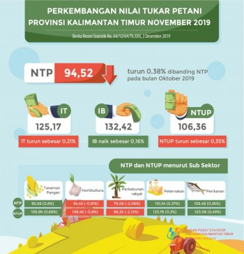 Nilai Tukar Petani Peternakan Kembali Naik di Bulan November