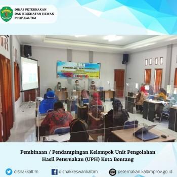 Pembinaan/Pendampingan Kelompok Unit Pengolahan Hasil Peternakan di Kota Bontang
