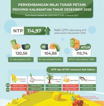 NTP Peternakan Bulan Desember 2020 sebesar 102,54 (Turun 0,77 Persen)