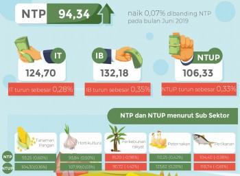 NTP Peternakan Bulan Juli Mengalami Kenaikan