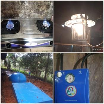 20 Unit  Alat Pengolahan Biogas Sudah Dirasakan Manfaatnya.