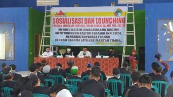Sosialisasi & Peluncuran Program Kemitraan Koperasi Ternak BSJ