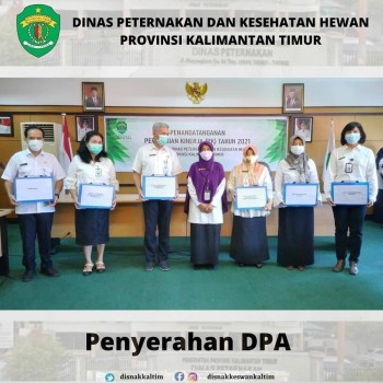 Penyerahan DPA APBD Tahun 2021