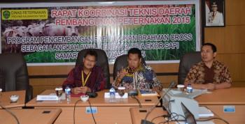 Rumusan Hasil Rapat Konsultasi Dan Koordinasi Teknis Daerah  Pembangunan  Peternakan Kalimantan Timur Tahun 2015