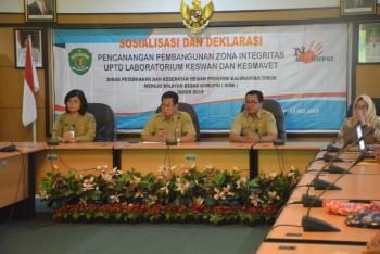 Sosialisasi dan Deklarasi Pencanangan Pembangunan Zona Integritas