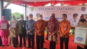 Kunjungan Gubernur di Wilayah Utara