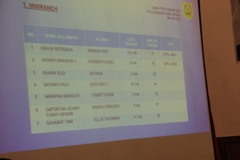 Rapat Koordinasi Pengembangan Kawasan & Pakan Ternak