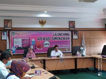 Peluncuran Aplikasi SIMENAWAN