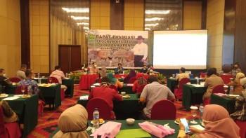Rapat Evaluasi Keg. APBD-APBN TA. 2020 Lingkup DPKH Kaltim